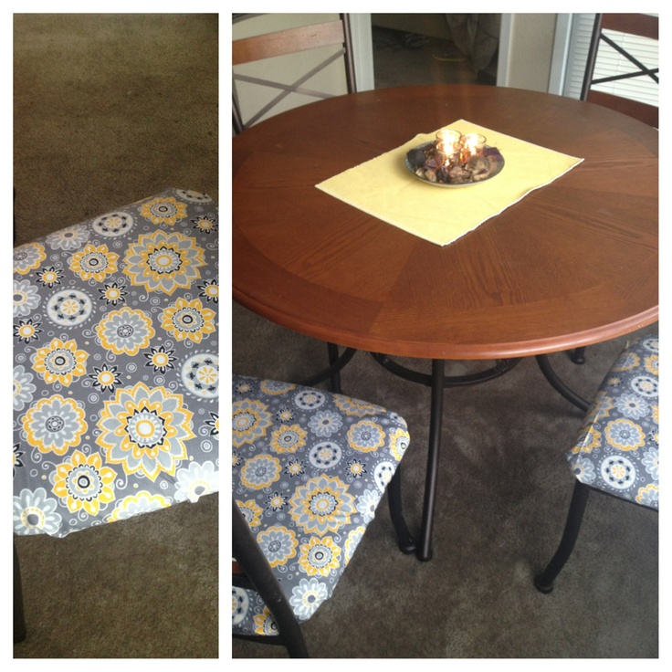my grey and yellow kitchen table kitchen pinterest