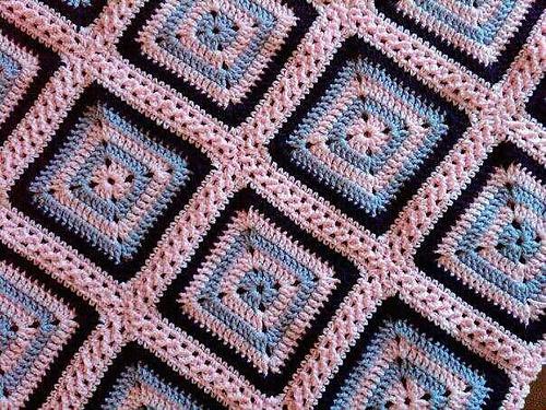 Crochet Patterns Joining Squares : Flat Braid Join Crochet Pinterest