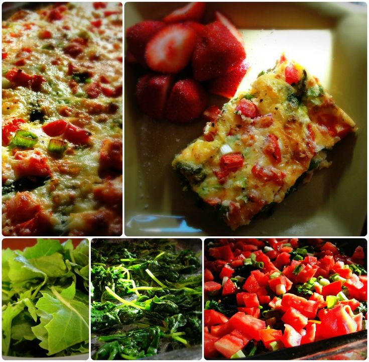 baby kale mozzarella and egg bake recipe yummly baby kale mozzarella ...