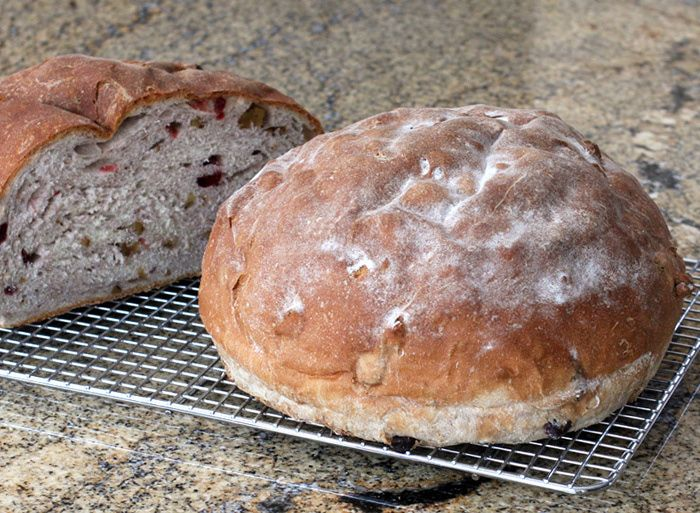 Cranberry Walnut Yeast Bread | Bread and Biscuits | Pinterest