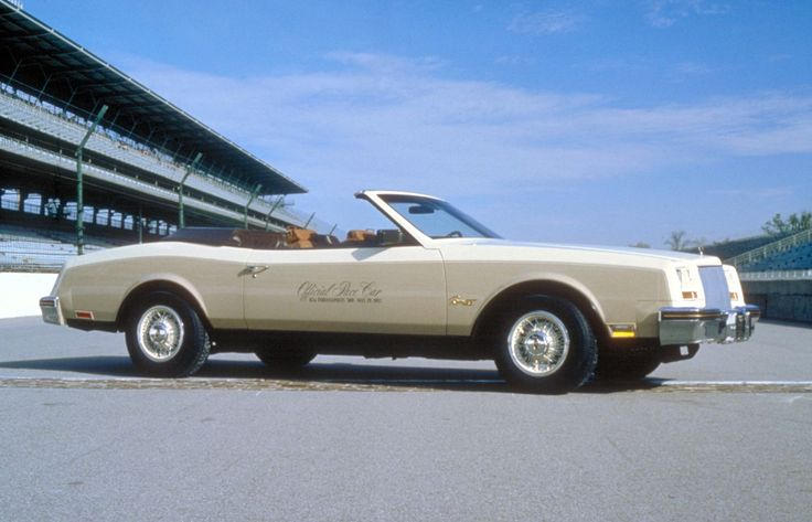 1982 Buick Riviera Convertible Pace Car Pace Cars