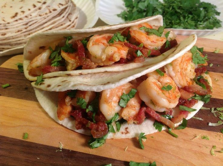 ... favorite recipes around my house (it's shrimp and bacon, c'mon!) as