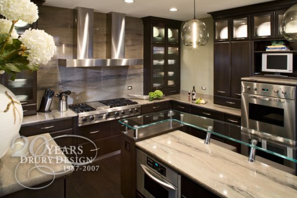 & why?  wedding white vs dark kitchen cabinetry Like The Cabinets