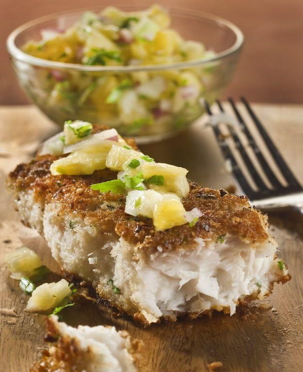 Macadamia & Coconut-Crusted Mahi | Cool Foods | Pinterest