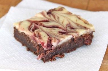 Gluten-Free Raspberry Cheesecake Brownies — Punchfork