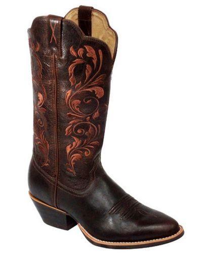 twisted x western boots womens cowboy chocolate wwt0032