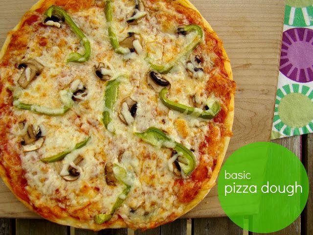 Basic pizza dough | Pizza My Heart | Pinterest