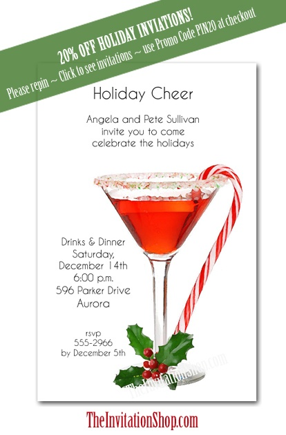 Christmas Party Invitiations is adorable invitation layout