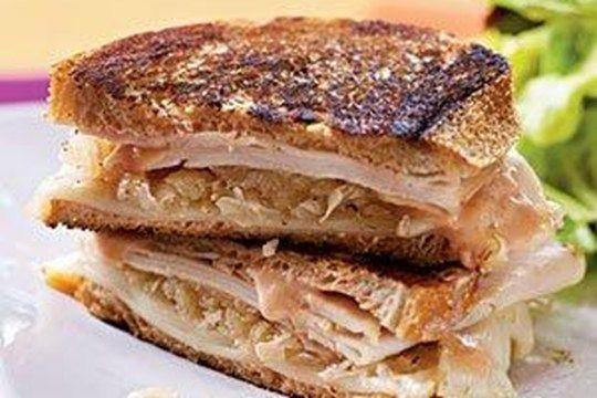 Turkey Reuben Sandwich | Healthy Cooking | Pinterest