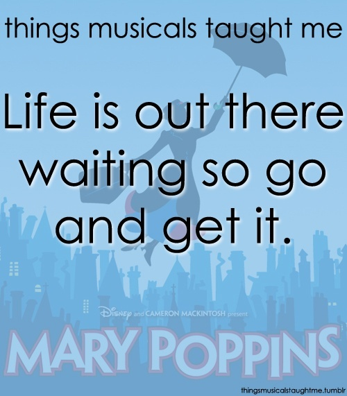 Inspirational Quotes Mary Poppins. QuotesGram