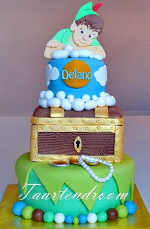 Peter Pan Cake, my favorite Disney movie of all time!!!