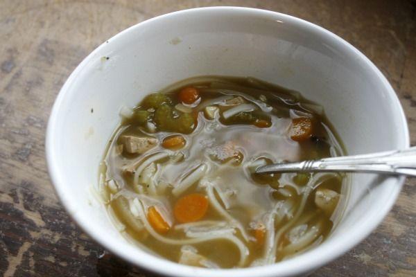 GFCF Vegetarian (No Chicken) Noodle Soup | Füd | Pinterest