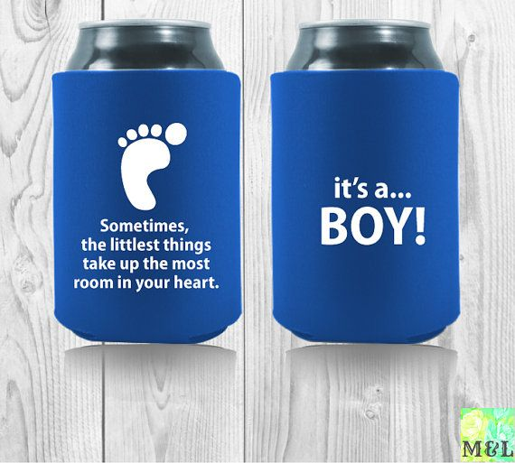 baby shower favor drink coozie koozie sometimes the littlest