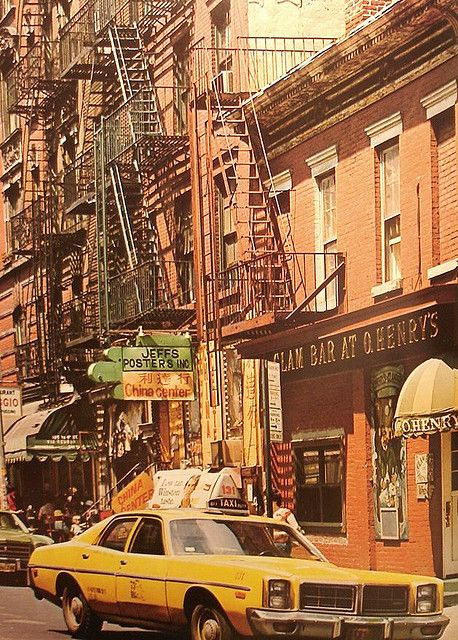 New york city 1970 s greenwich village street life for The village nyc