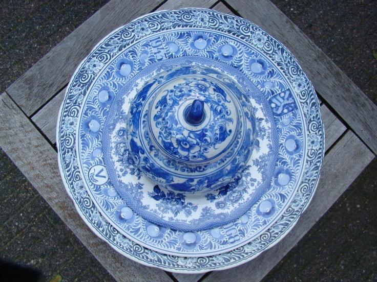 Blauwe Keuken Delft : Delfts Blauwe Keuken : LEGO? Delfts Blauwe Wandtegels 1?1