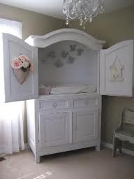 armoire as changing table