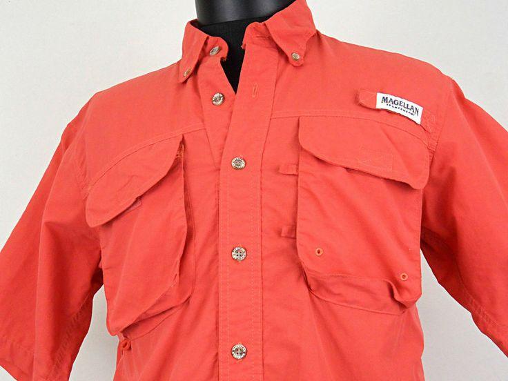 Magellan sportswear laguna madre fishing shirt mens size for Magellan fishing shirt