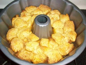 Egg Nog Monkey Bread from @Amy Charest