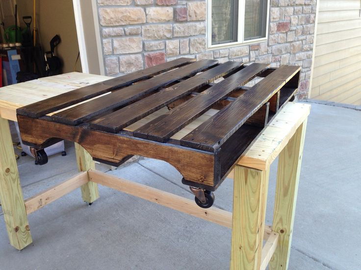 How to make a coffee table casual cottage for Build your own coffee table kit