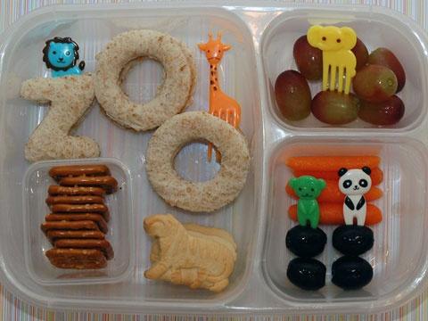 zoo lunch idea pb&j