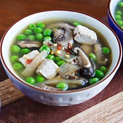Put this vegan hot and sour soup in your crock-pot in the morning and ...