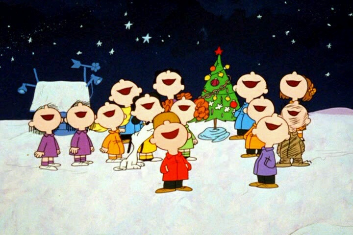Christmas Carols | Charlie Brown & Peanuts gang | Pinterest