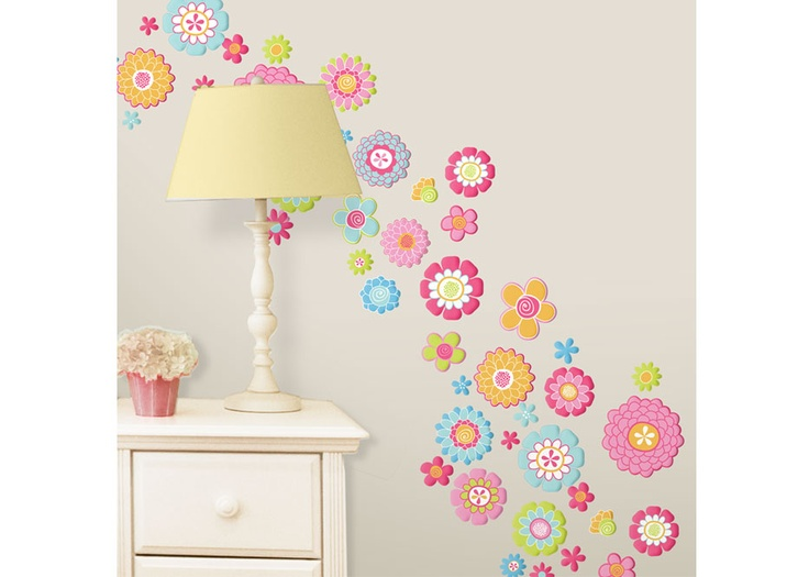 Flowers Wall Decals.