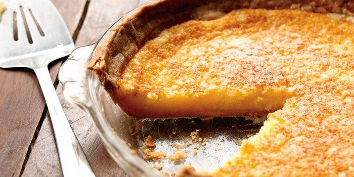 Lemon Chess Pie -   Dessert   Pinterest