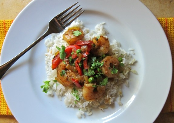 Shrimp Curry with Coconut Rice | Food- Cooking | Pinterest