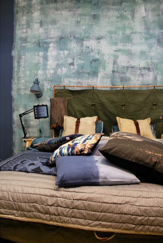 stoere slaapkamer  Slaapkamer / Bedroom  Pinterest