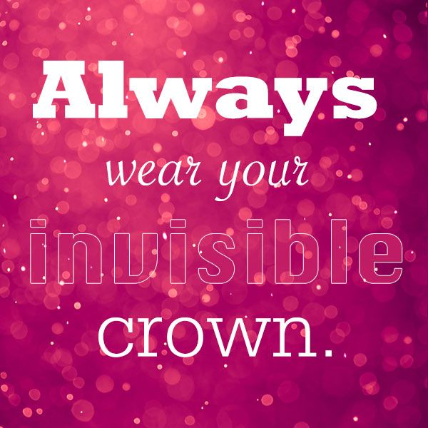 Always wear your invisible crown. Discover products you love at getrockerbox.com
