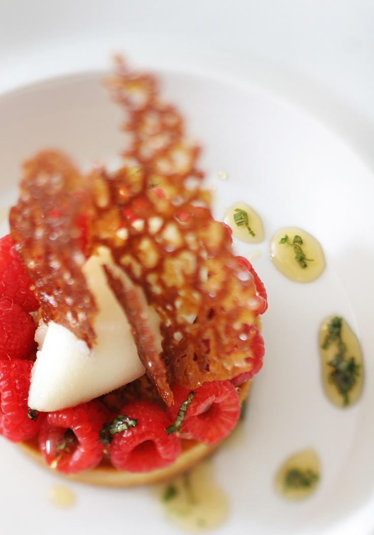 Lemon Tart with Raspberries by Payard | Desserts by Payard | Pinterest