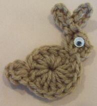 Free Crochet Pattern For Bunny Pin : Crochet Bunny Crochet Bunny Pattern Handwerk; Haken ...