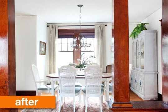 Before & After: A Dining Room Designed on a Dime