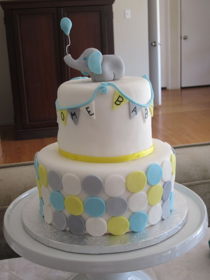 Baby Elephant Cake Decoration : Elephant Baby Shower Cake BaBy ShOwEr/kid room ideas ...