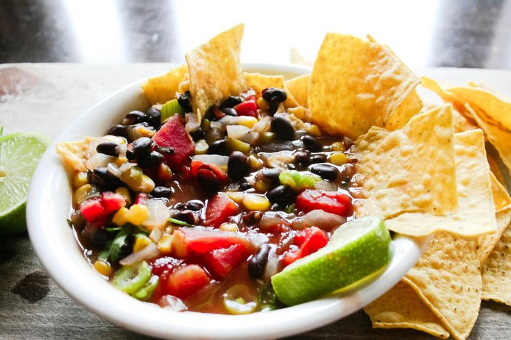tortilla-soup-with-black-beans | Yum-in-Tum | Pinterest