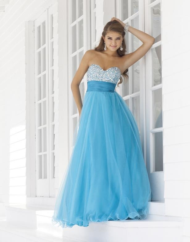 A cinderella prom dress