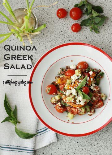 Quinoa Greek Salad | | What's for Dinner? | Pinterest