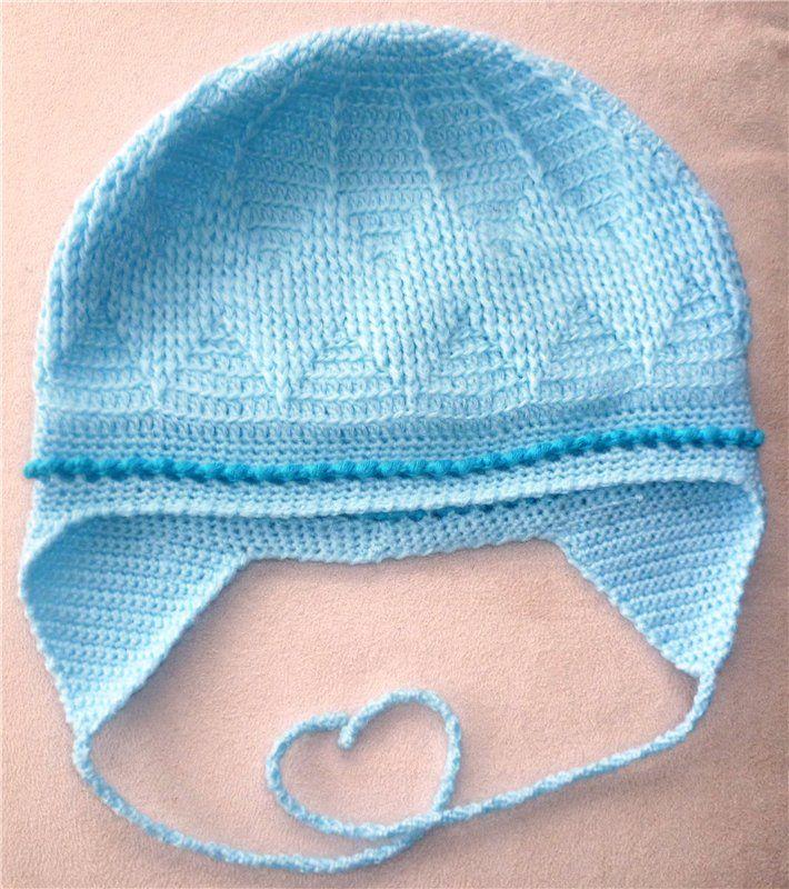 Вязанная шапка снуд и варежки