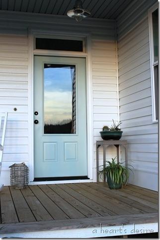 front door paint color benjamin moore palladium blue. Black Bedroom Furniture Sets. Home Design Ideas