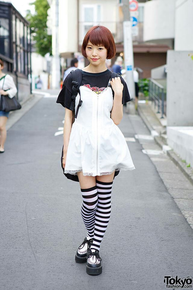 Japanese Model Japanese Street Fashion Pinterest
