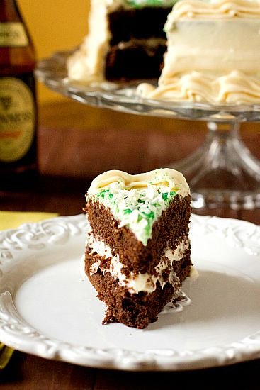 Chocolate Stout Cake With Bailey's Cream Cheese Frosting Recipe ...