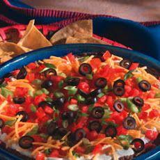 Scrumptious 5-Layer Mexican Dip   Recipes   Pinterest