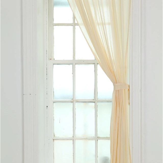 Urban outfitters gauze curtains | New Apt | Pinterest