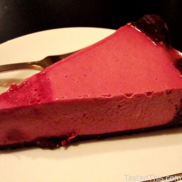 Blood Orange Live Cheesecake - http://www.tastedthis.com/2013/03/01 ...