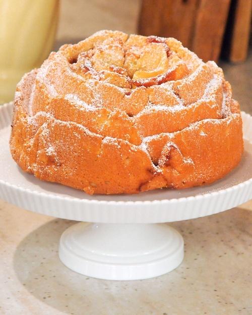 Vanilla Dusty Ol' Okie-Rose Cake - Award winning bunt cake recipe on ...