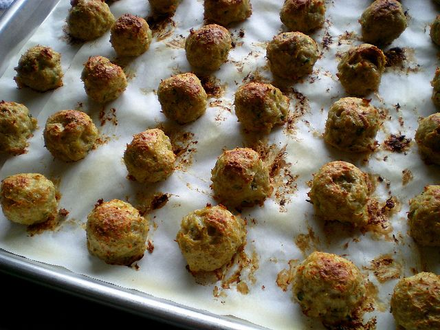 Easy chicken meatballs for Italian Wedding Soup - light and savory by ...