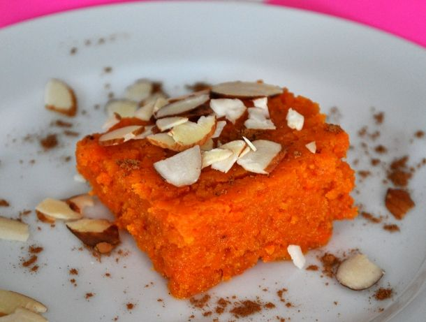 Indian-style Spiced Carrot Bars (Gajar Ka Halwa): I'm not used to ...