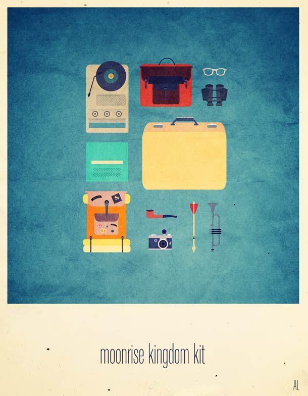 messenger bag for women MoviesHipsterKits1  Illustrations