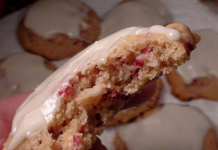 Moist, Soft Cranberry Orange Cookies | sweet stuff | Pinterest